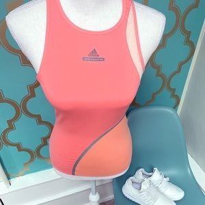 Stella McCartney Adidas tank top size XS peach